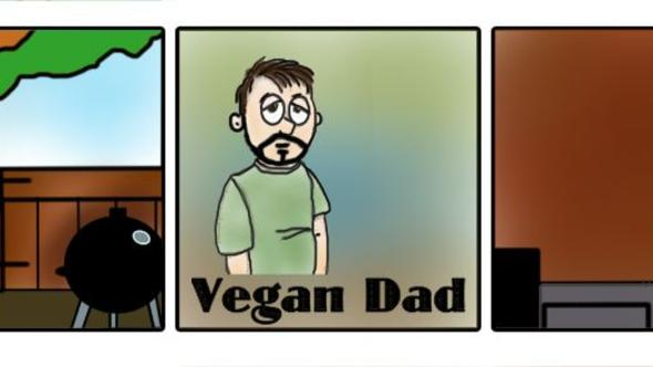 Vegan Dad Comics October 2016