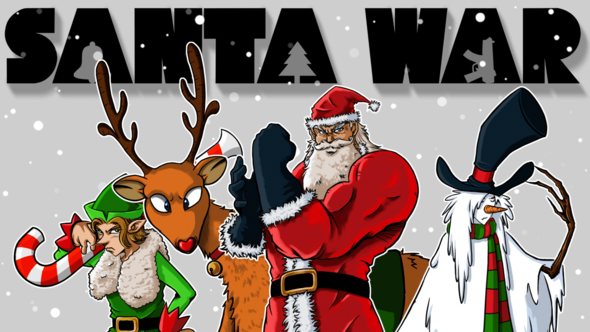 Santa War (Part I): Non-Silent Night