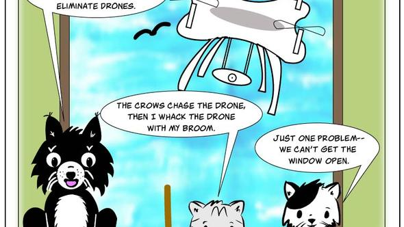 Condo Critters - Episode 17: Game of Drones