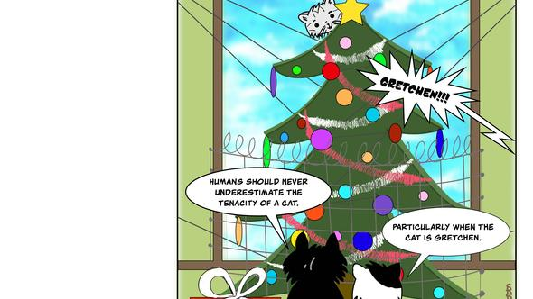 Condo Critters Ep. 22a: Xmas Tree Protection