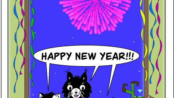 Condo Critters Ep 25: Happy New Year!!!